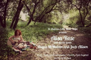 St. Andrew's Celtic Music Night presents Alisa Rose